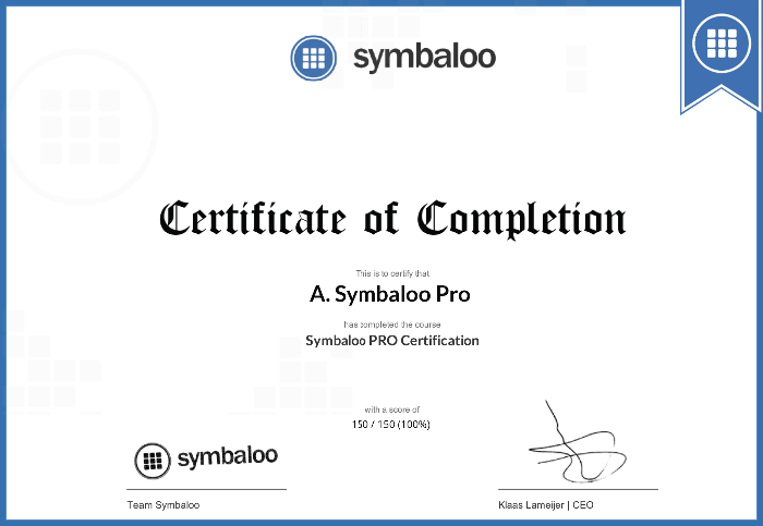 Symbaloo-Certification